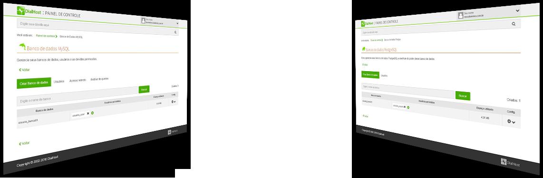 MySQL ou PostgreSQL... Você é quem escolhe
